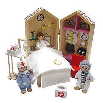 Zénobie à l'hôpital dans Au jour le jour jeux